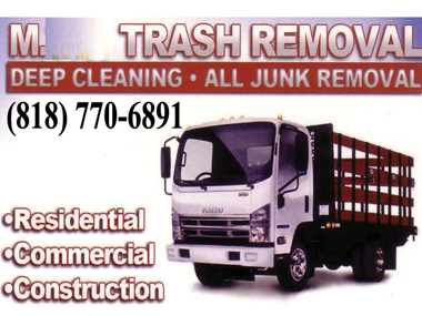Trash Removal | Junk Removal, Residential & Commercial, East Los Angeles